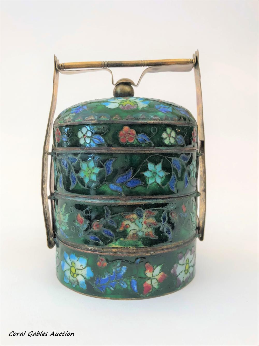 Cloisonne decorative piece