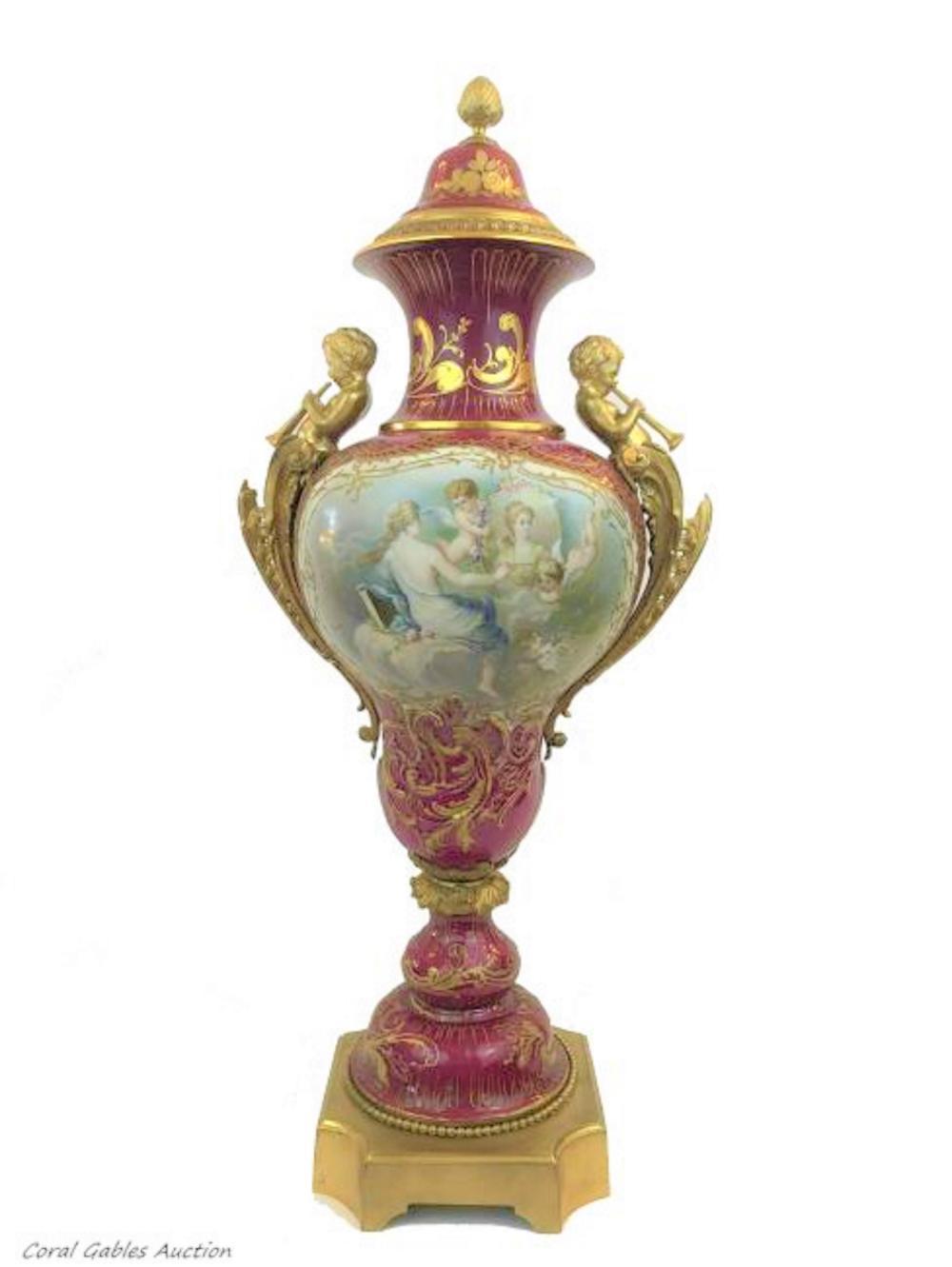 Antique porcelain sevre of the 19th century