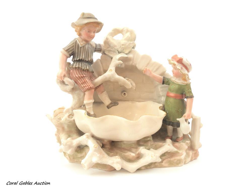 Dutch Decorative Porcelain Piece