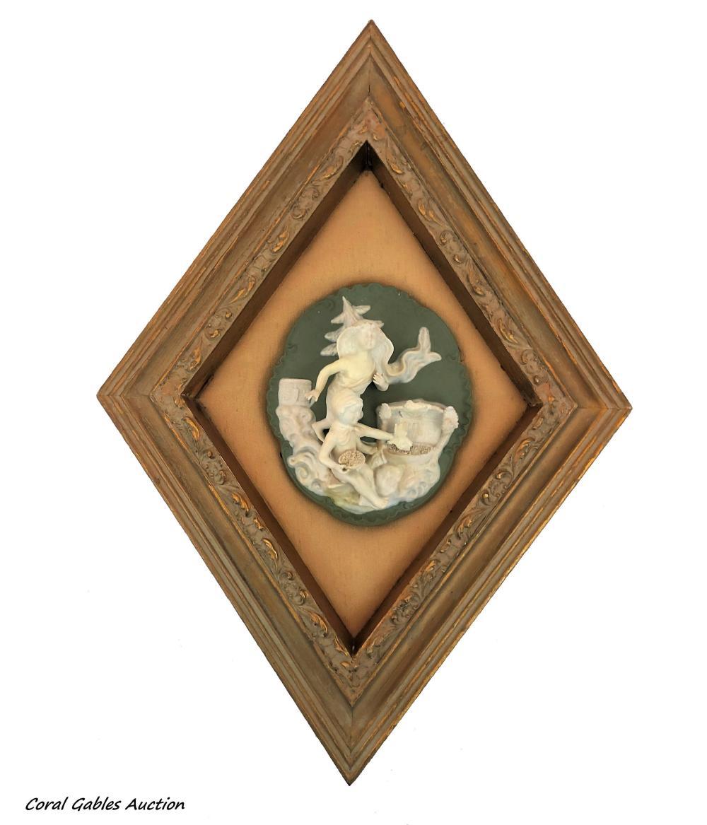 Wedgwood style plaque