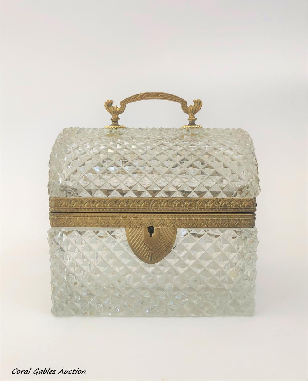 Crystal jewelry box