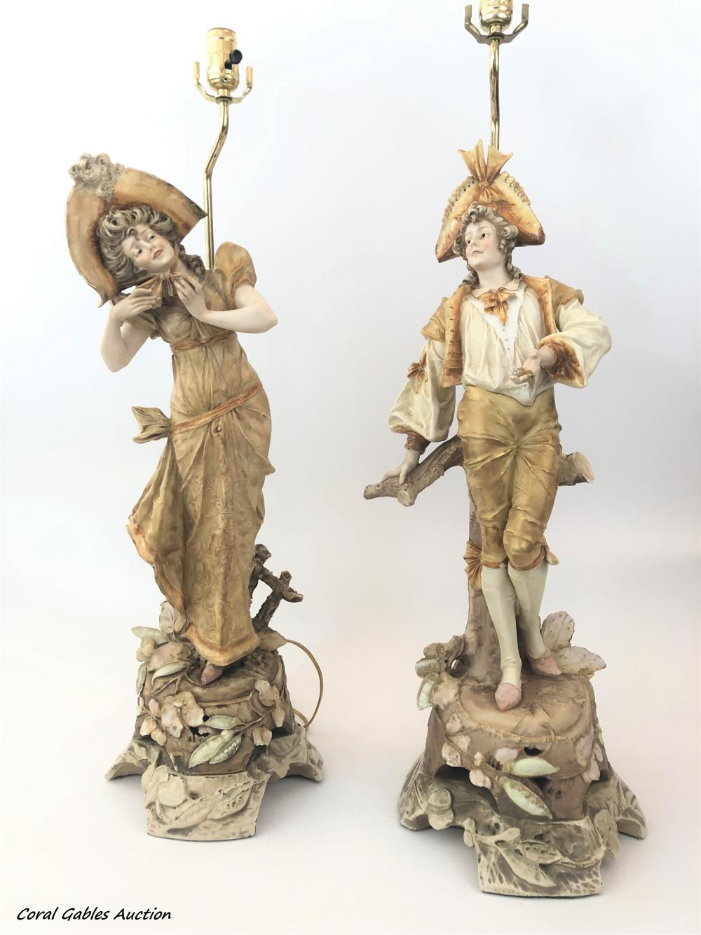 Pair of Teplez Lamps