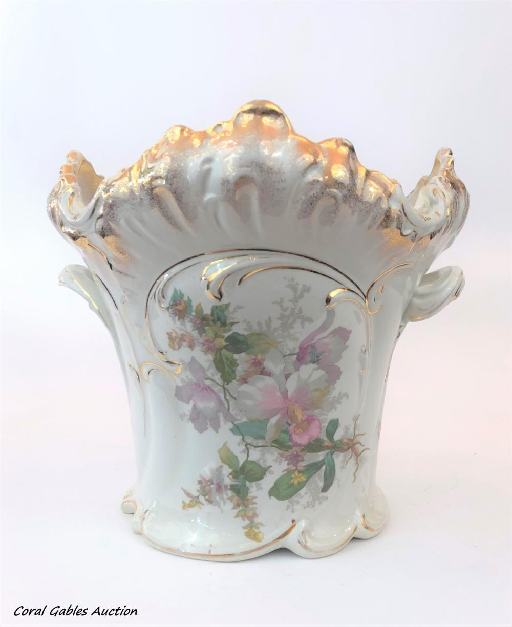 Porcelain Planter.