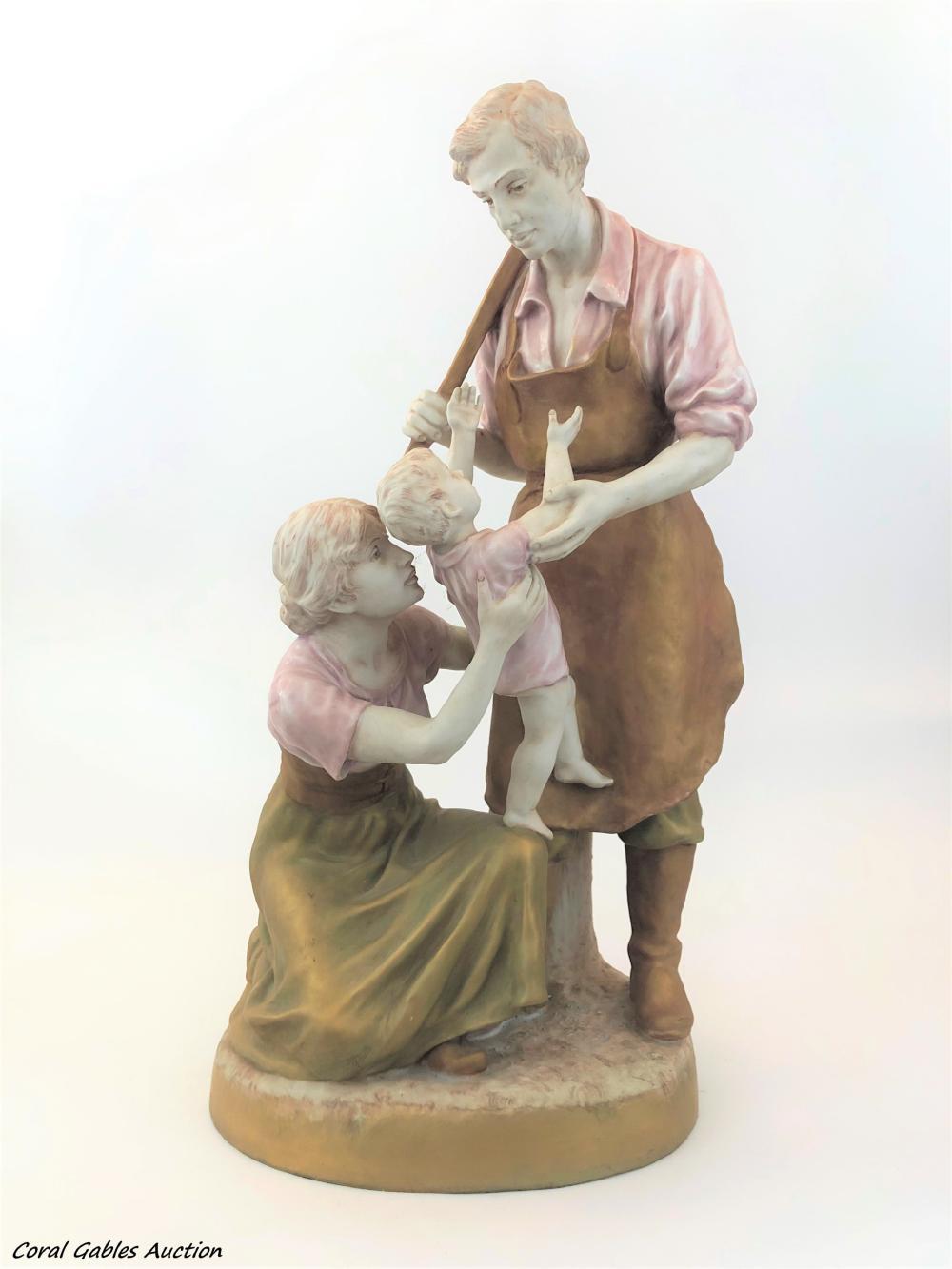 Royal Dux porcelain figure