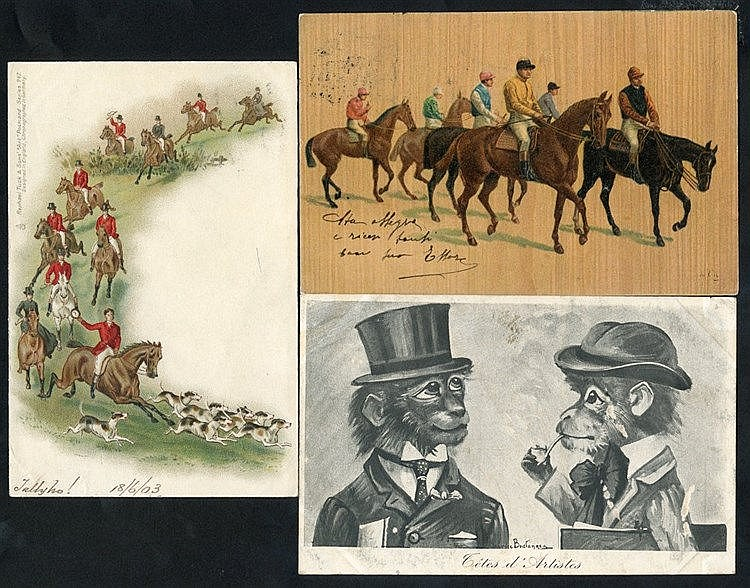 HORSE RACING modern album containing approx 70 cards incl. Donald