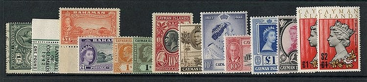 BRITISH WEST INDIES collection of M or UM housed in two ring bind