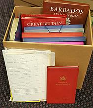 BRITISH COMMONWEALTH chiefly M & U ranges in several albums or on