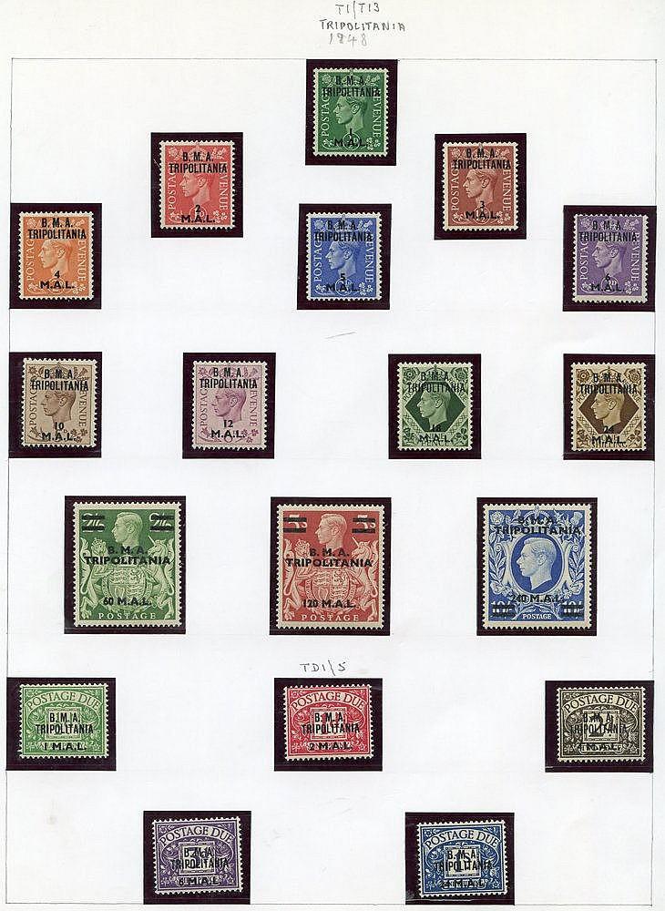 SOMALIA 1948 set UM, 1950 set M, Tripolitania 1948 set M, 1950 se