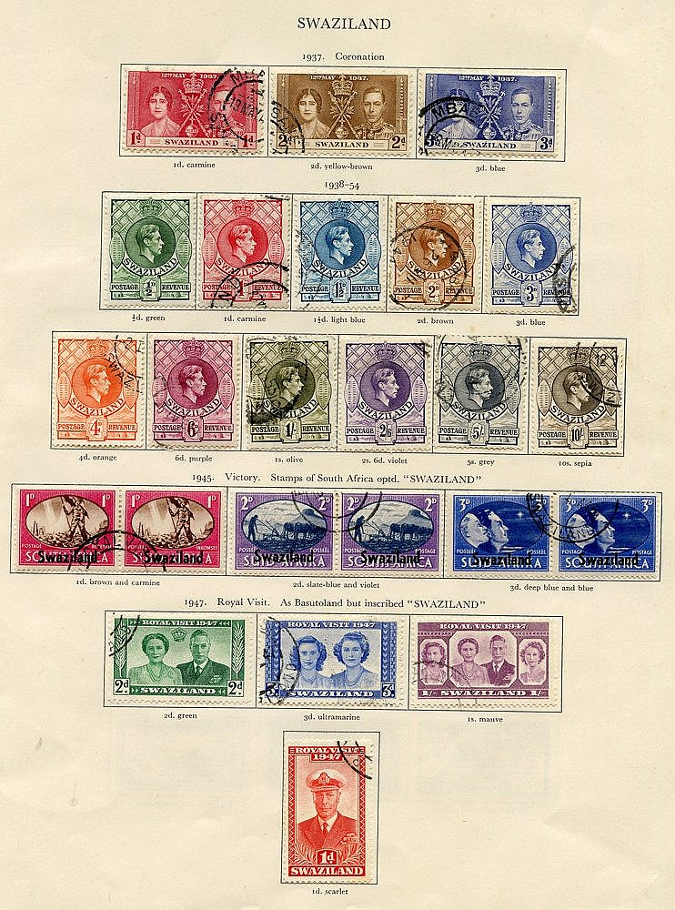 COLLECTION BALANCE comprising BRUNEI complete (21), M.E.F (20), S
