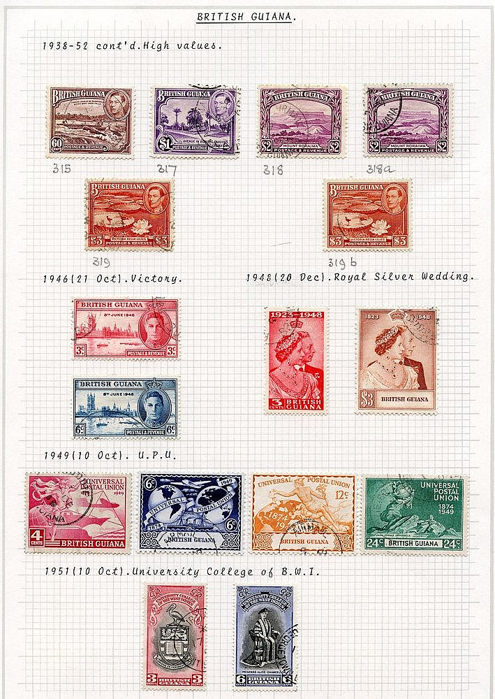 1937-51 KGVI VFU collection incl. 1938 set + extras, 1948 Wedding