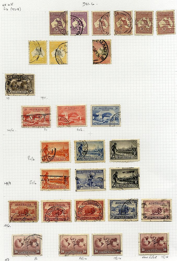 1913-90's U collection housed in a large philatelic album incl. d