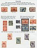 AUSTRALIA & STATES 1913-2000 collection of M & U housed in four A,  Alpha, £0