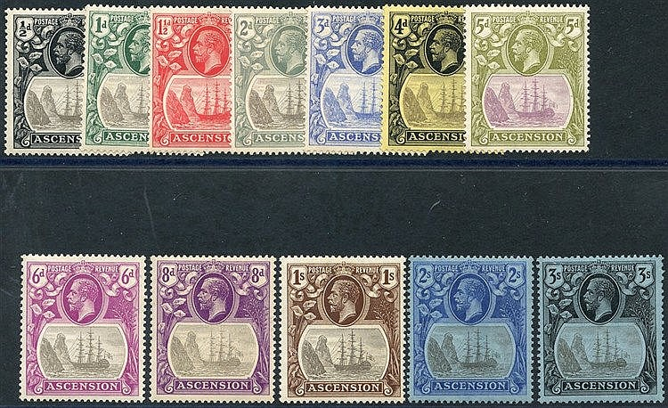 1924-33 MSCA set, M (the odd minor tone), SG.10/20. (12) Cat. £35