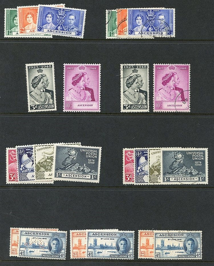1937 trio of Coronation covers with Sea Post M.V City of New York