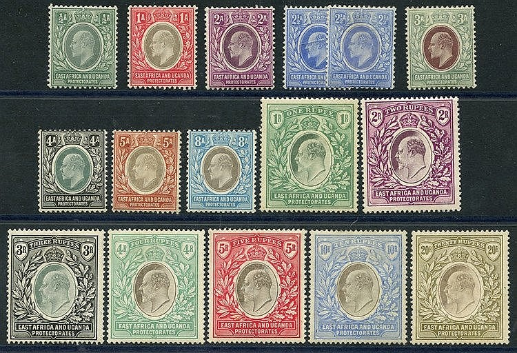 1904-07 MCCA set to 20r, M (the 1r has the odd perf with tones, 5