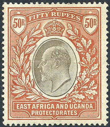 1903-04 50r grey & red-brown, M (central horizontal crease o/w fi