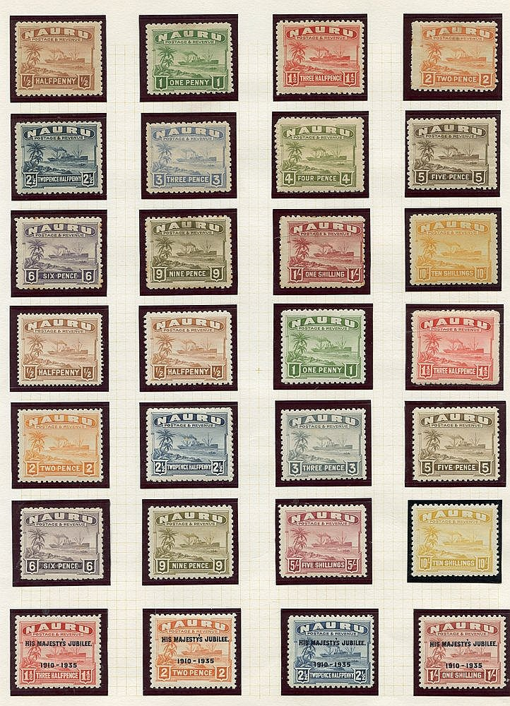 BRITISH COMMONWEALTH collection in album (mainly M) with Cook Isl