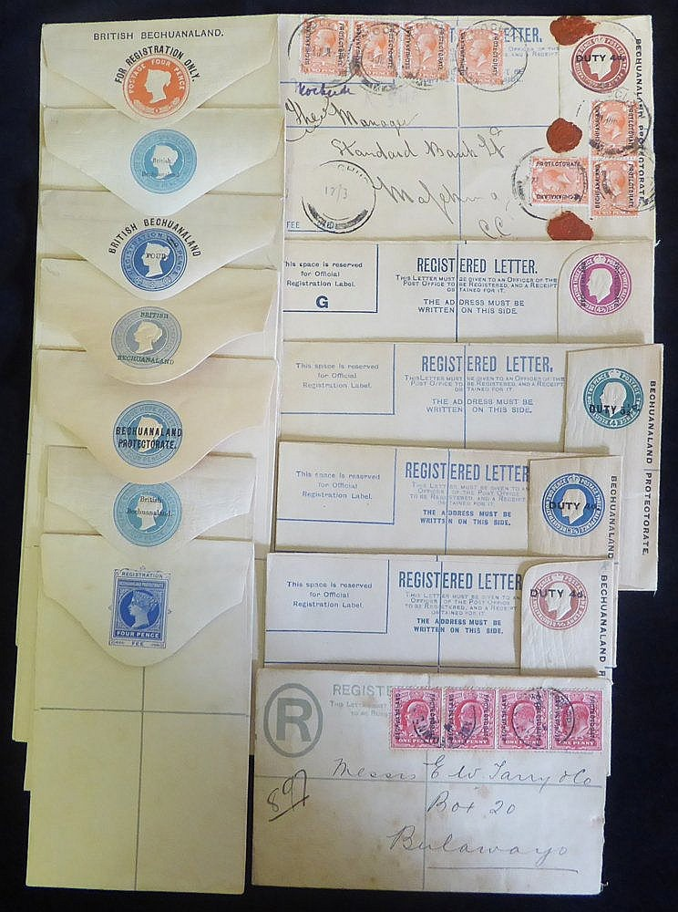 19th/20thC range of postal stationery envelopes, excellent full r