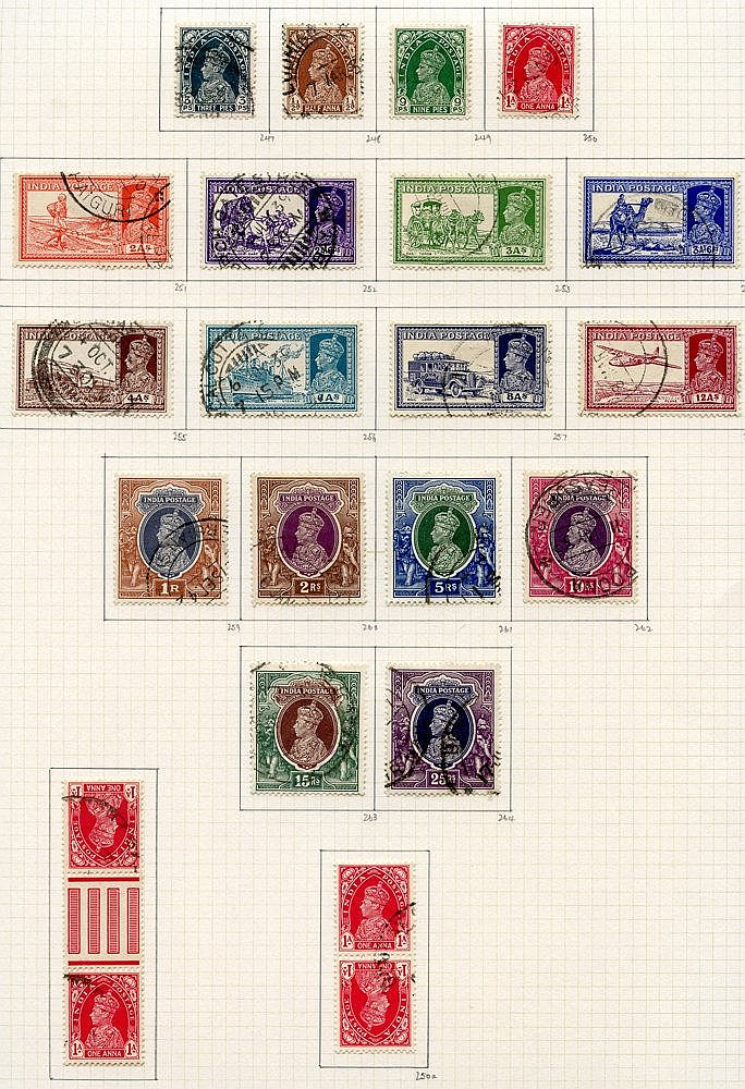 1937-51 collection U on philatelic leaves, generally fine with a