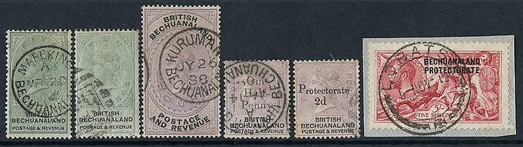 1885-1954 collection neatly mounted on pages with the basic issue