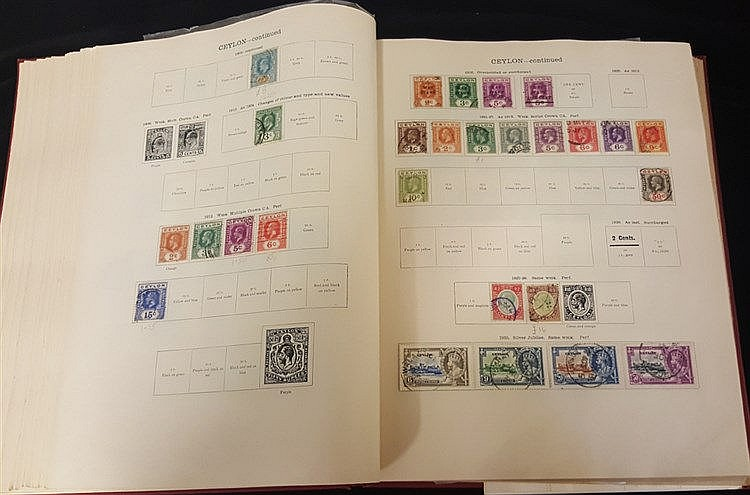 BRITISH EMPIRE 1840-1936 chiefly U collection in a New Ideal albu