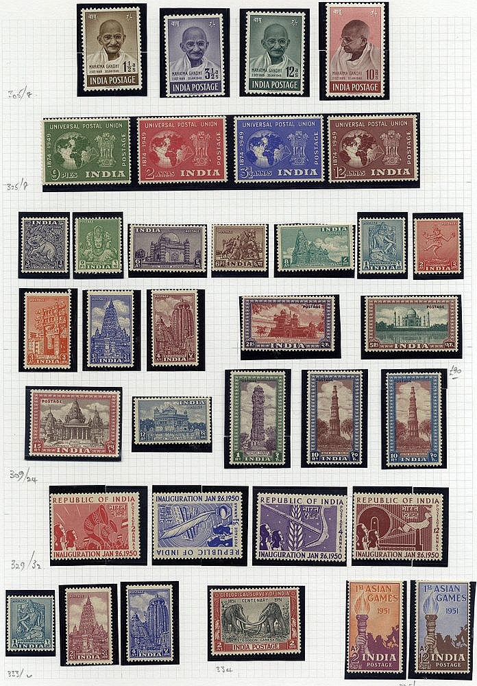 1854-2000+ good to FU & M collection housed in a large well fille