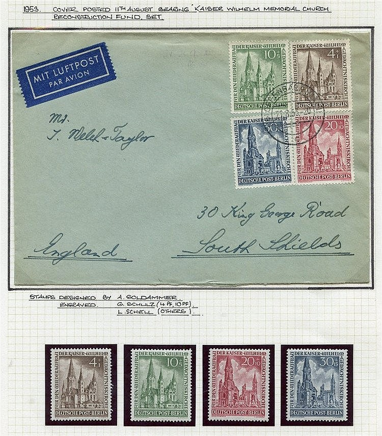 1948-73 collection written up & housed in a Senator album incl. M