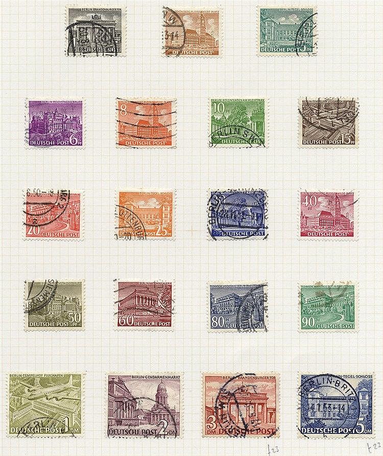 1948-81 chiefly VFU collection incl. 1949 UPU 16pf, 24pf, 50pf