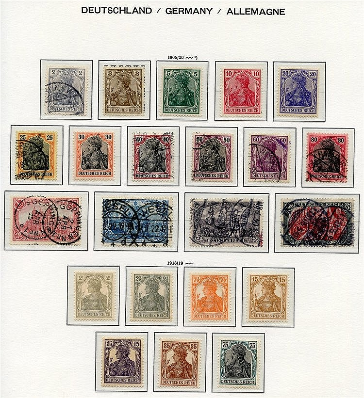 Collection on Lighthouse leaves 1872-1932 with a small range of E