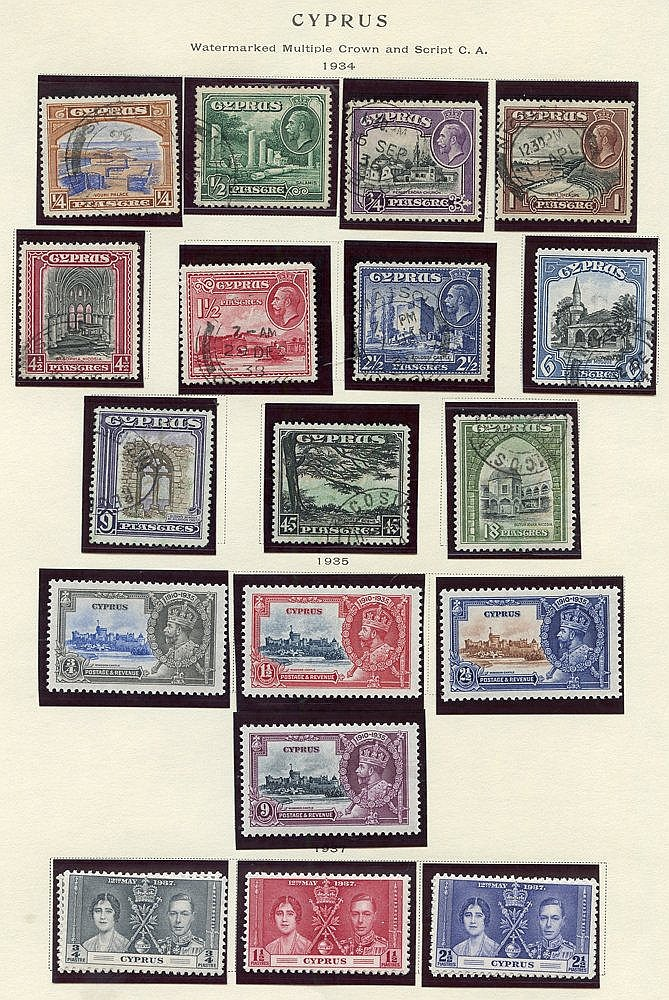 1890-1999 chiefly M or UM collection housed in a Scott printed al