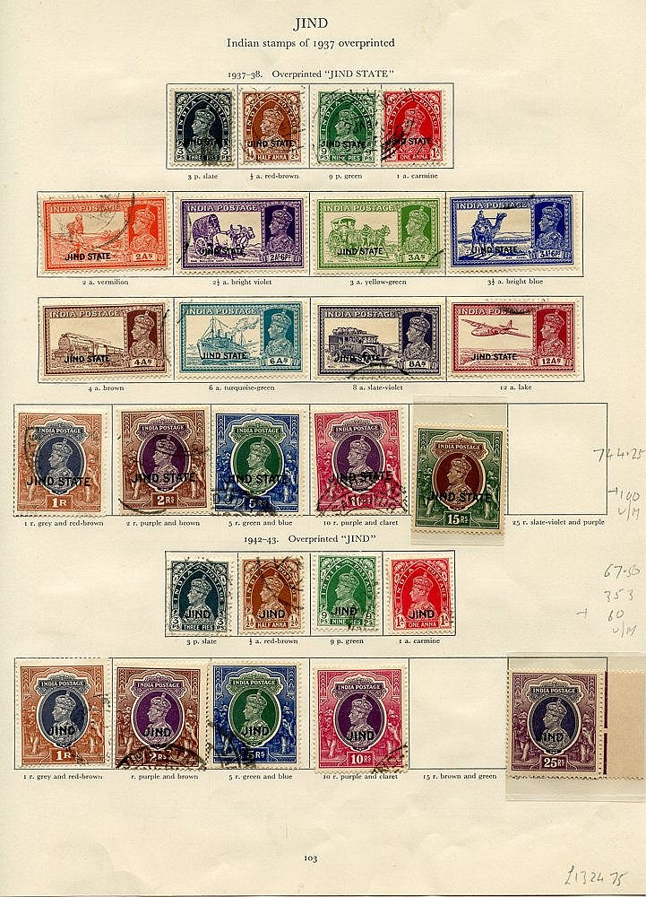 JIND 1937-42 mainly FU collection (not complete) incl. 1937-38 to