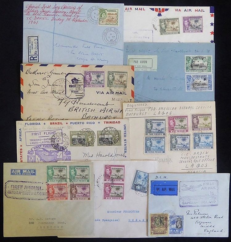 20thC - very large & interesting collection of covers, pmks & sta