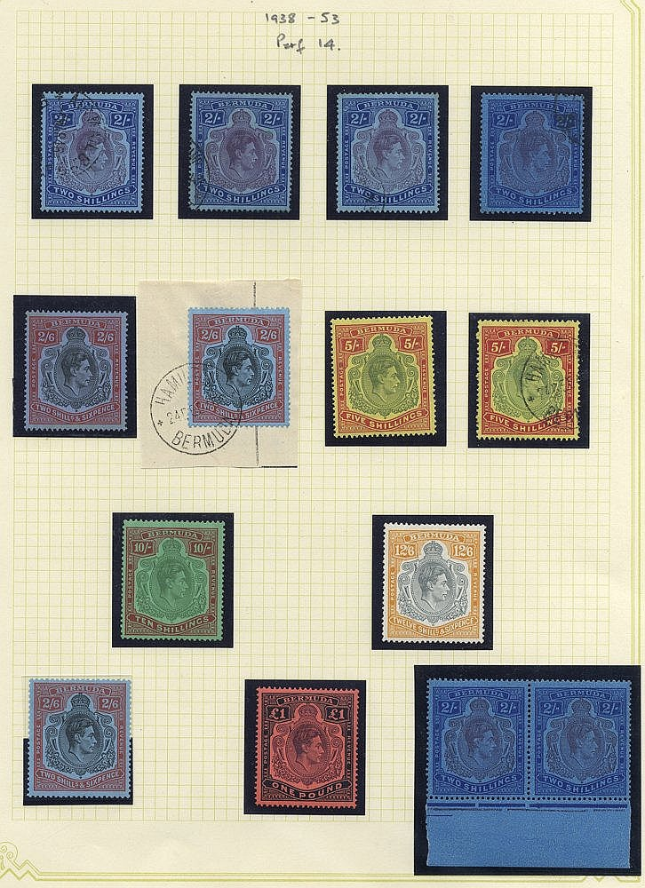 1865-1946 M & U collection in a Windsor binder, highlights are th