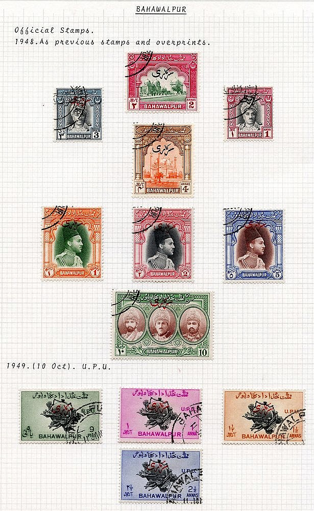 1947-49 KGVI VFU collection incl. 1948 Pictorial set, 1949 Jubile
