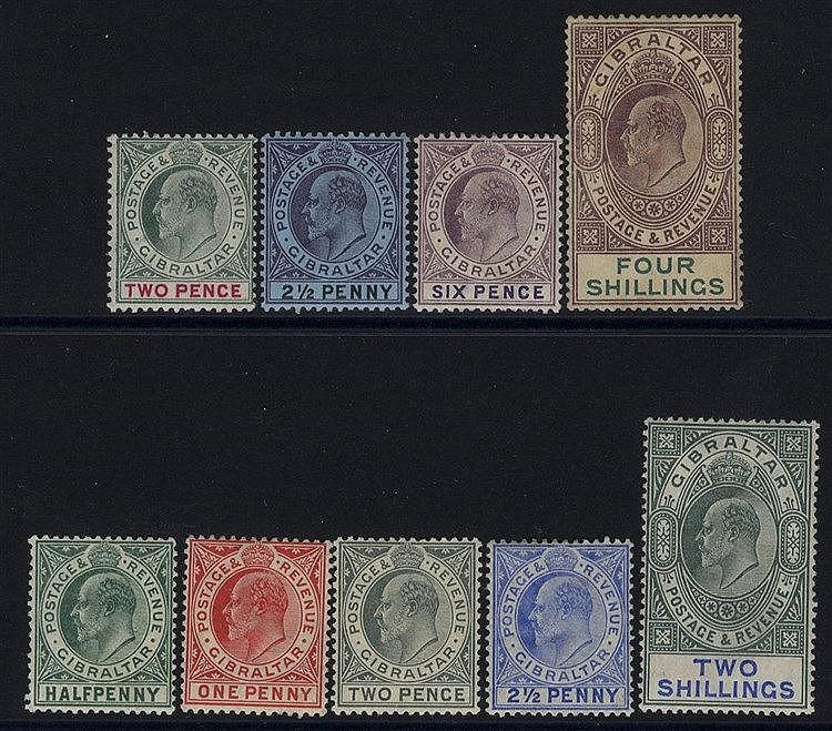 1903 CCA 2d, 2½d, 6d & 4s, 1904-08 MCCA ½d, 1d, 2d, 2½d, 2s - all