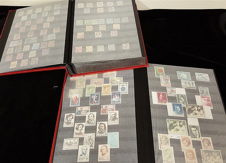 1860-1983 M or UM & FU collection housed in two large black page