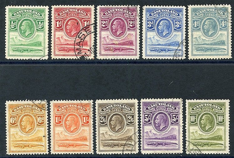 1933 Defin set VFU (10s some blunt perfs) SG.1/10. (10) Cat. £375