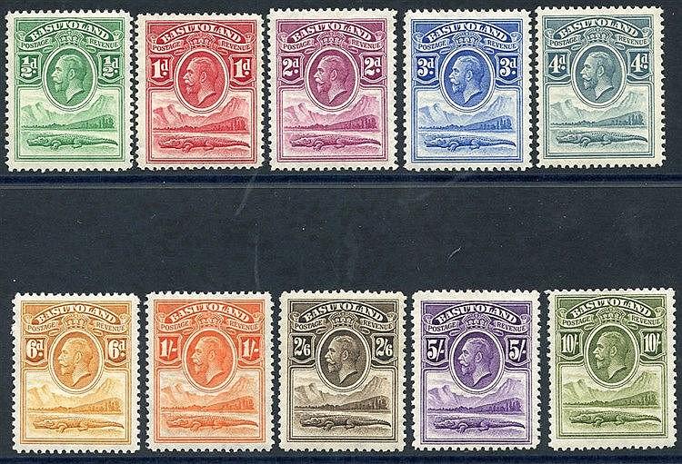 1933 MSCA set, fine M, SG.1/10. (10) Cat. £275