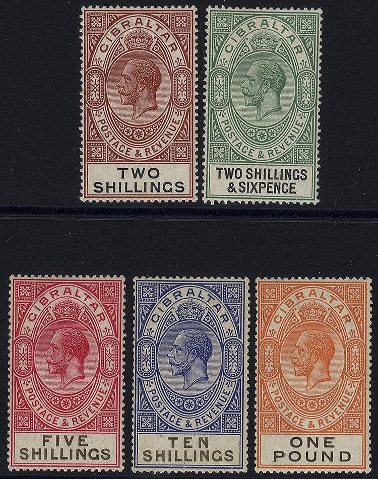 1925-32 New Values & Colours Changed MSCA 2s - £1, fine M (2s gum