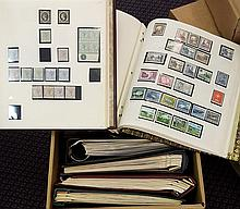 BRITISH COMMONWEALTH M & U collection housed in seven albums (inc