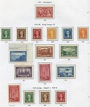 AUSTRALIA, CANADA & NEW ZEALAND chiefly M collection housed in th