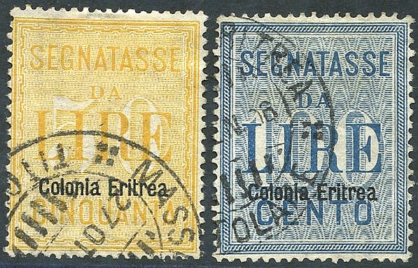 1905 Postage Due set VFU, SG.D41/2 (2) Cat. £515