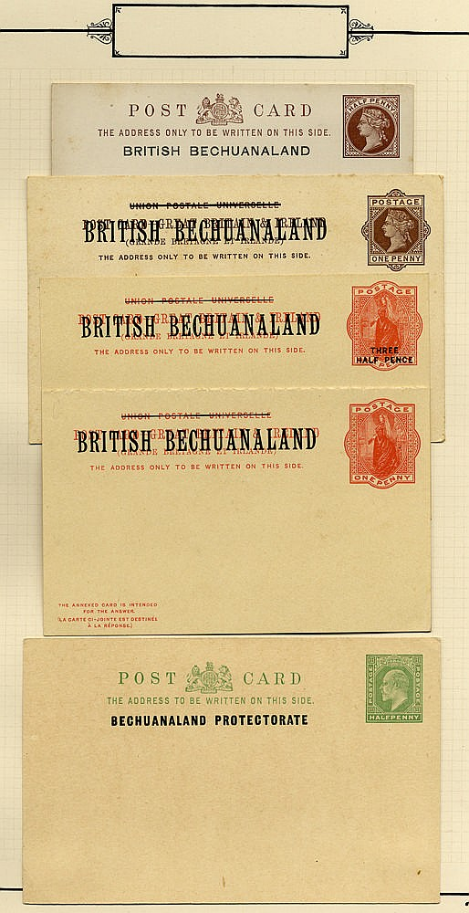 BRITISH COMMONWEALTH postal stationery selection of 53 items, 48