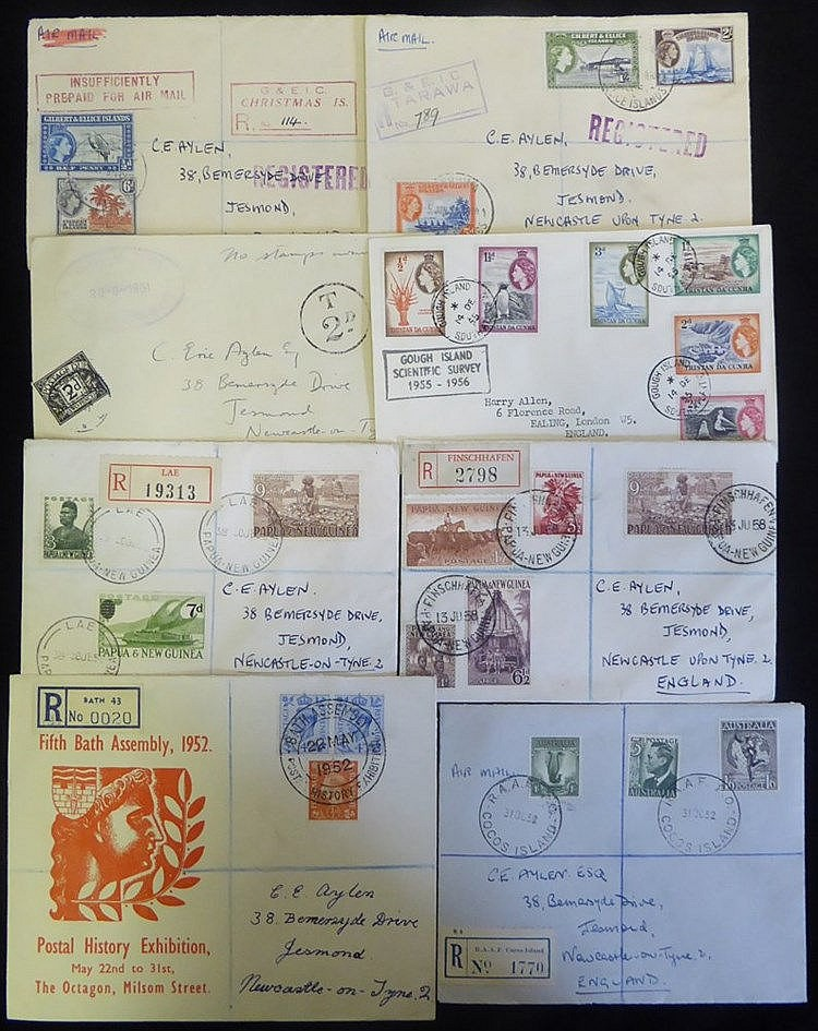 BRITISH COMMONWEALTH New Age album containing GB Philatelic Congr