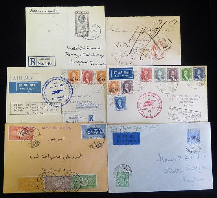 BRITISH COMMONWEALTH & WORLD 19th/20thC group of entires & covers