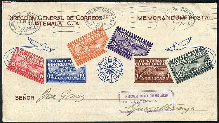 1930-69 range of cacheted first flight covers (7) incl. 1930 June
