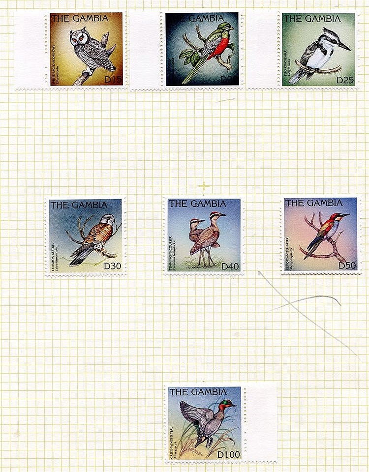 1918-2010 M or UM collection in a spring back album (excl. 1990-9