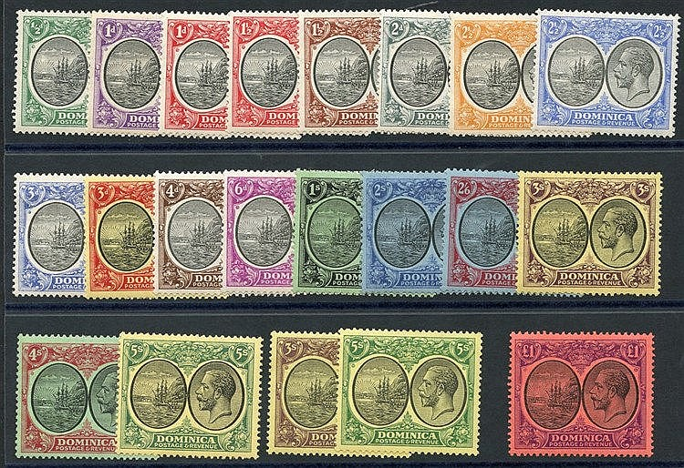 1923-33 MSCA & MCCA Defin set, complete M, the odd lower value wi