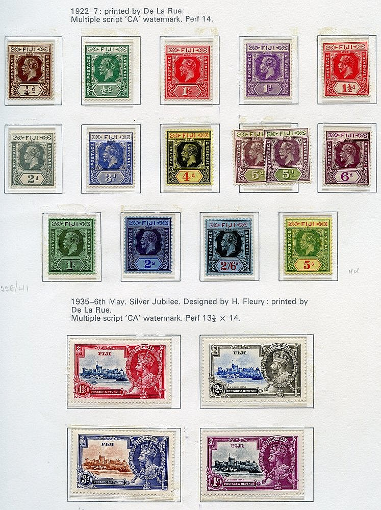 1878-1987 M or UM collection in a Collecta printed album incl. 18