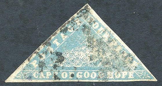 1861 4d Woodblock, U example (three good margins), SG.14.